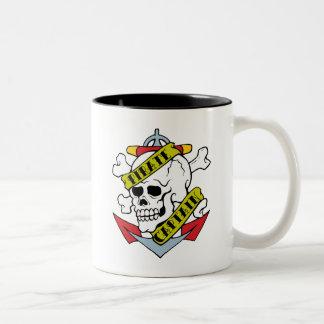 Pirate Captain Tattoo Coffee Mug