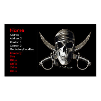 Pirate Card Business Cards