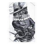 Pirate cat Design Custom Stationery