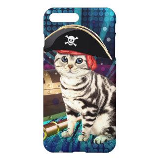 pirate cat iPhone 7 plus case