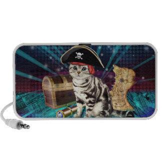 pirate cat portable speakers