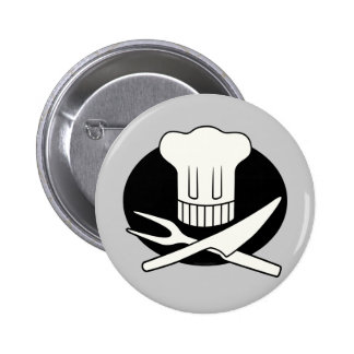 Pirate Chef 6 Cm Round Badge