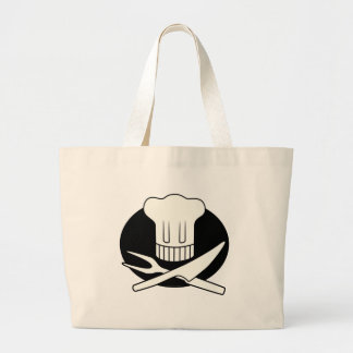 Pirate Chef Large Tote Bag