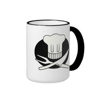 Pirate Chef Ringer Coffee Mug