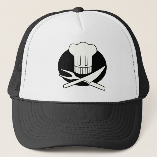 Pirate Chef Trucker Hat