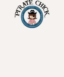 Pirate Chick Tee Shirts