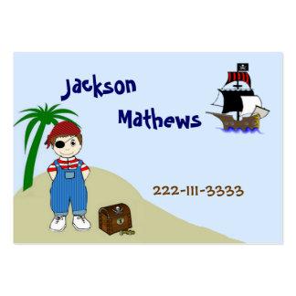Pirate Children's Calling Card Business Card Template