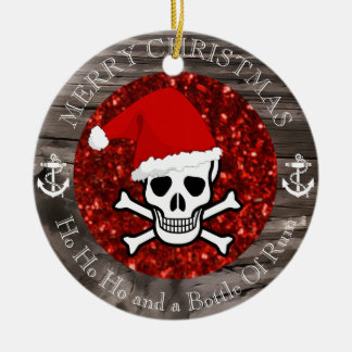 Pirate Christmas Christmas Ornament
