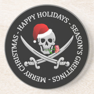 Pirate Christmas coaster