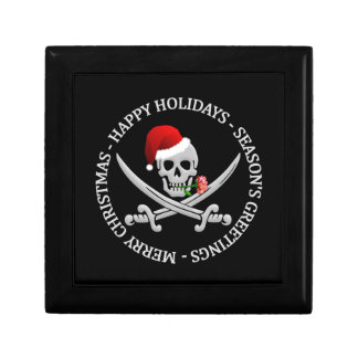 Pirate Christmas gift box