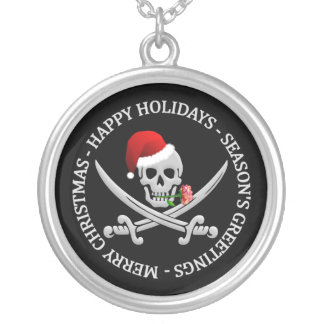 Pirate Christmas necklace