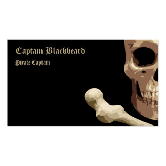 Pirate Club - Skull and Crossbones Pack Of Standard Business Cards