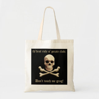 Pirate Club Tote Bag
