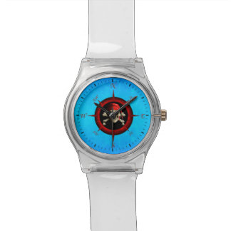 Pirate Compass Rose Wrist Watches