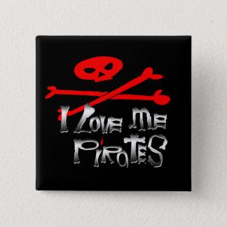 Pirate Contest!!! 15 Cm Square Badge