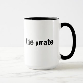 Pirate cool gift mug