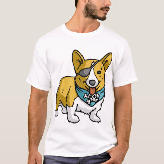 Pirate Corgi T-Shirt