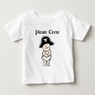 Pirate Crew Baby Clothes Tee Shirt