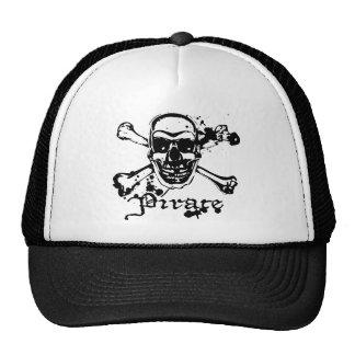 Pirate Cross Bones Trucker Hats