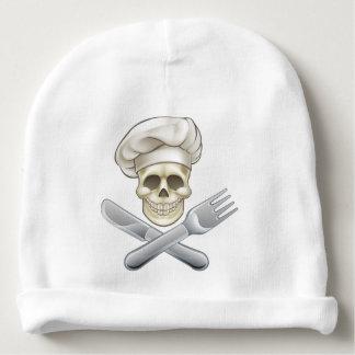 Pirate Crossbones Chef Cartoon Baby Beanie