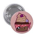 Pirate Cupcake Pin