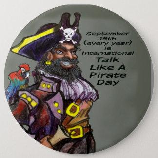 Pirate Day 6 Cm Round Badge