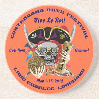 Pirate Days Lake Charles, Louisiana. 30 Colors Coasters
