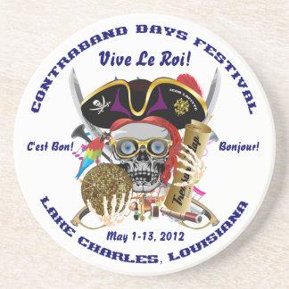 Pirate Days Lake Charles, Louisiana. 30 Colors Coaster