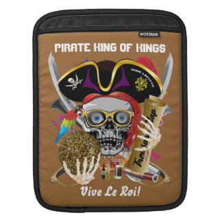 Pirate Days Lake Charles, Louisiana. 30 Colors iPad Sleeves