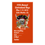 Pirate Days Lake Charles, Louisiana. 30 Colours Picture Card