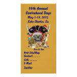 Pirate Days Lake Charles, Louisiana. 30 Colours Photo Card Template