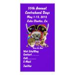 Pirate Days Lake Charles, Louisiana. 30 Colours Custom Photo Card