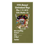 Pirate Days Lake Charles, Louisiana. 30 Colours Photo Card