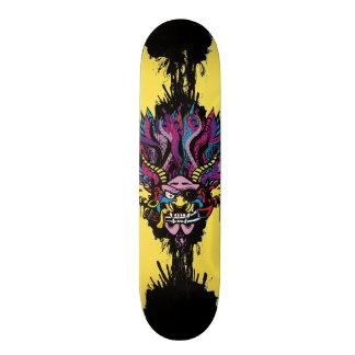 Pirate Demon Warlord Custom Skateboard