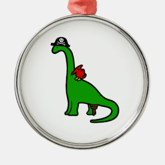 Pirate Dinosaur - Brachiosaurus Christmas Ornament