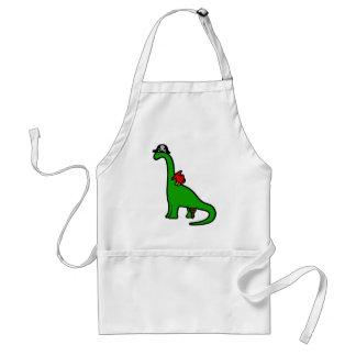 Pirate Dinosaur - Brachiosaurus Standard Apron