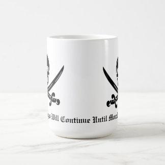 Pirate Discipline Basic White Mug