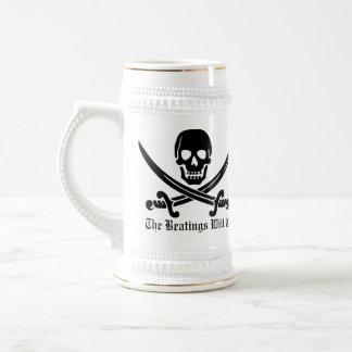 Pirate Discipline Beer Stein
