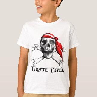 Pirate Diver Kids T-shirt