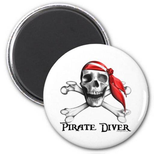 Pirate Diver Magnet
