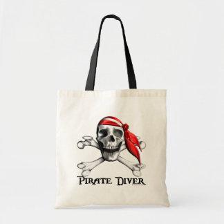 Pirate Diver Tote bag