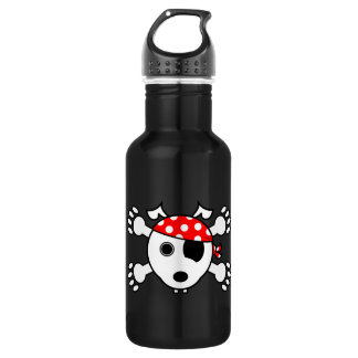 Pirate Dog 532 Ml Water Bottle