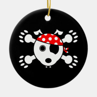 Pirate Dog Christmas Ornament