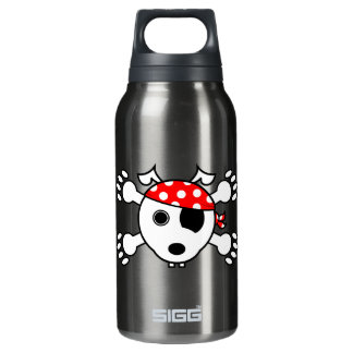 Pirate Dog Insulated Water Bottle