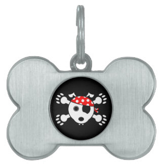 Pirate Dog Pet ID Tag