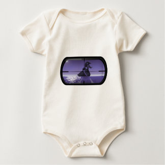 Pirate Duck Torpedoed Baby Bodysuit