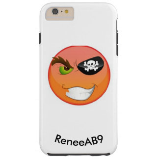 Pirate Emoji Iphone by ReneeAB9 Tough iPhone 6 Plus Case