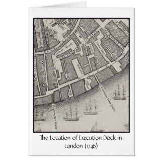Pirate Execution Dock Card