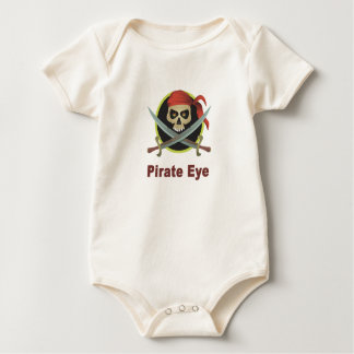 Pirate Eye Infant Clothing Baby Bodysuit