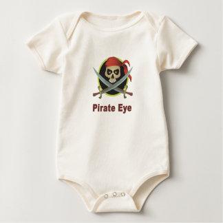 Pirate Eye Infant Clothing Bodysuits
